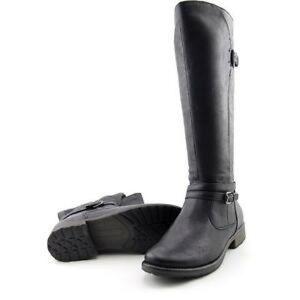 BareTraps Black 'sabio' Knee High Riding Boots
